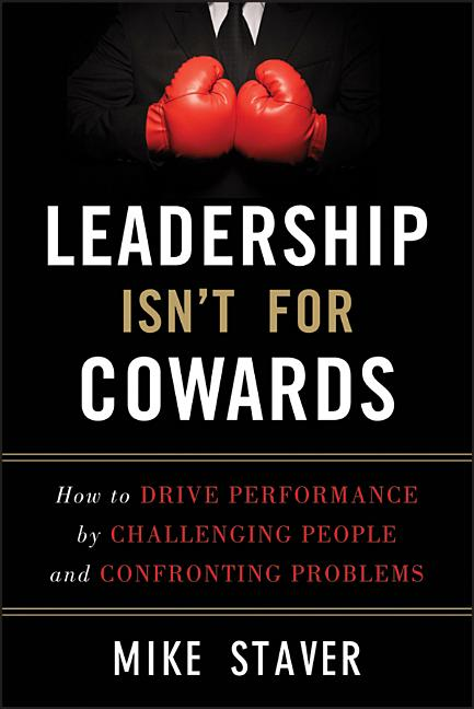 Cover art for Leadership Isn't for Cowards