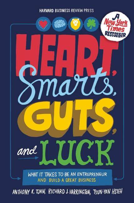 Cover art for Heart, Smarts, Guts, and Luck