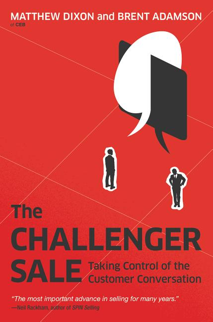 Cover art for The Challenger Sale
