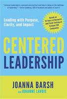 Cover art for Centered Leadership