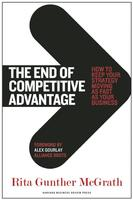 Cover art for The End of Competitive Advantage
