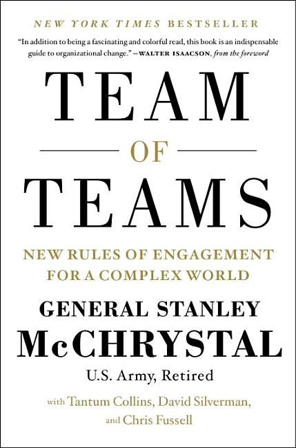 Cover art for Team of Teams