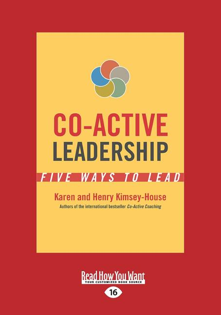 Cover art for Co-Active Leadership