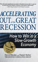 Cover art for Accelerating Out of the Great Recession